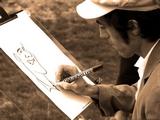 Caricaturiste dans le Gard