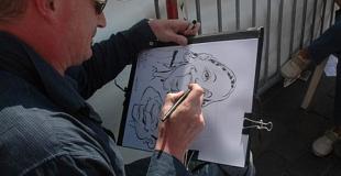 Caricaturiste Toulouse