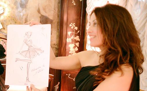 Sophia, caricaturiste