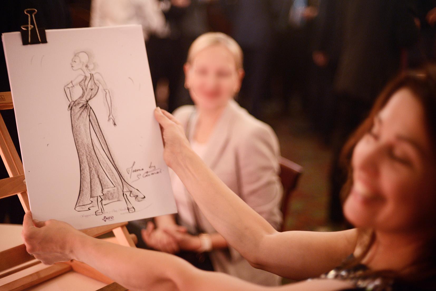 caricaturiste femme sur Paris