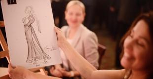 Animation caricaturiste pour une soirée au Ritz (75)