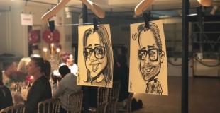 Caricaturiste pour une soirée de fin d'année à Paris (16ème)