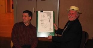 Caricaturiste pour une soirée annuelle d'entreprise (92)