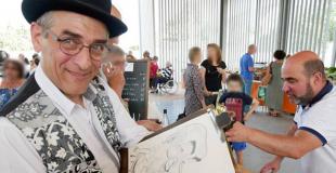 Caricaturiste pour clôturer un séminaire (72)