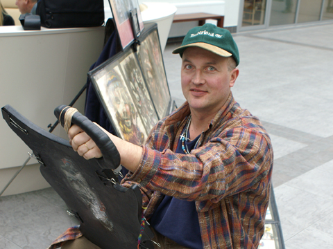 Caricaturiste Alexandre Balan