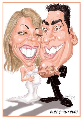 Caricaturiste de mariage