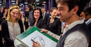 caricaturiste sur Bordeaux